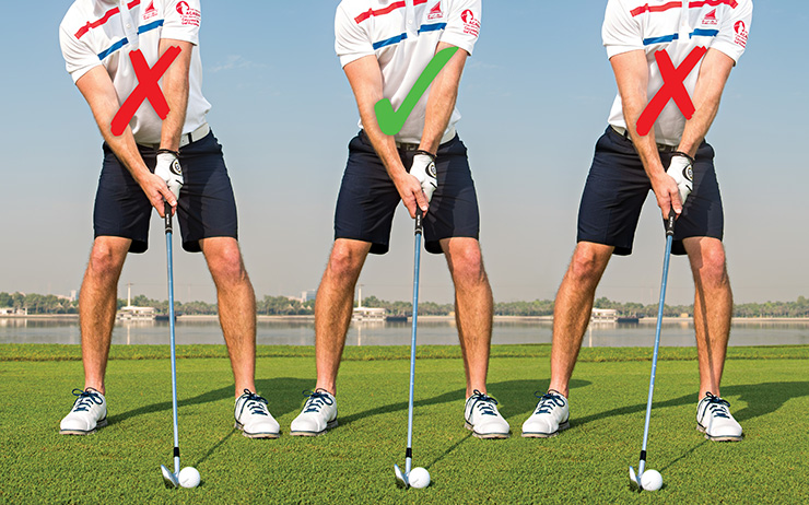 How to get set up for hitting crisp, powerful iron shots ...