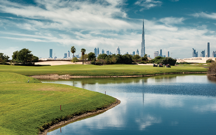 Dubai Festival City Golf Course at The Intercontinental Hotel   The Vacation Builder