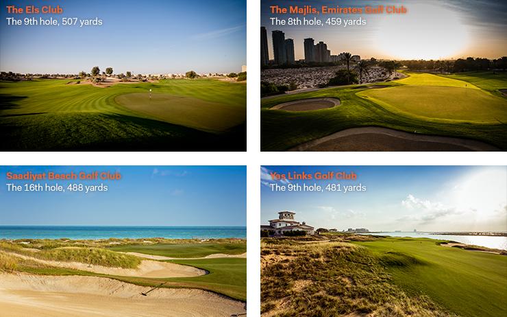 The UAE's hardest golf holes