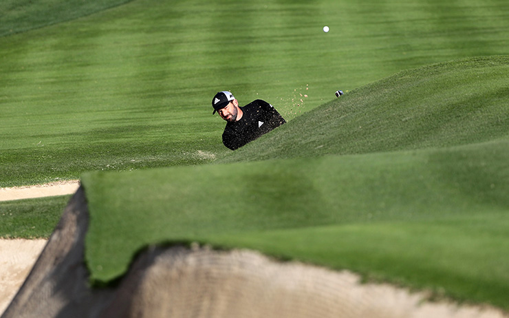 Garcia retains Desert Classic lead as Dubai amateur Thomas makes the cut