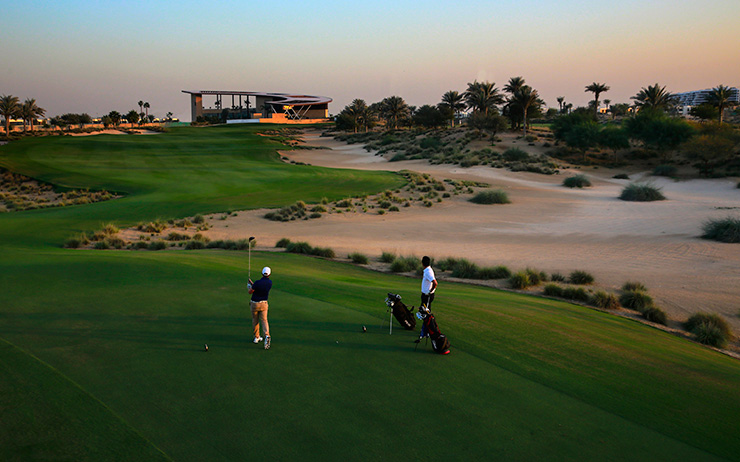 The 11th hole (Photo: Kevin Murray)