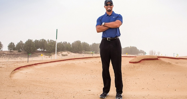 "Tiger Woods' Omega Dubai Desert Classic comeback – all 77 forgettable first round strokes before his premature withdrawal – was an unmitigated fizzer.  Thankfully his new Dubai course is shaping up as something altogether more inspiring.    The hobbled former world No.1 provided some ""design direction"" while touring the first ""few holes"" of Trump World Golf Club in the new 55 million sq ft Akoya Oxygen development in Al Qadra during his otherwise disappointing Dubai stopover.    He met with Damac Properties' chairman, Hussain Sajwani, and members of the TGR Design team working on the 7400 yard, par 72 course and clubhouse facility which follows Trump International GC Dubai, the soon-to-be-opened Gil Hanse design in the nearby Akoya by Damac development.    ""It is a pleasure to welcome Tiger Woods to see first-hand the progress on Trump World Golf Club, Dubai, which is progressing as planned and is set to open in 2018,"" said Niall McLoughlin, Senior Vice President, DAMAC Properties.    ""Tiger Woods' insights were invaluable in ensuring the golf course is truly world-class. He was delighted with the level of progress to date and looks forward to seeing the project advance further in the months ahead."""