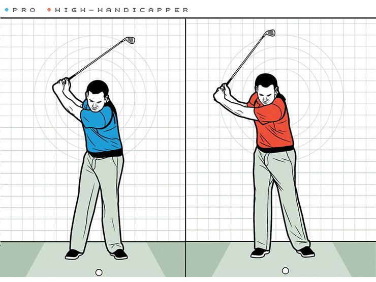 flirting moves that work golf swing back high point