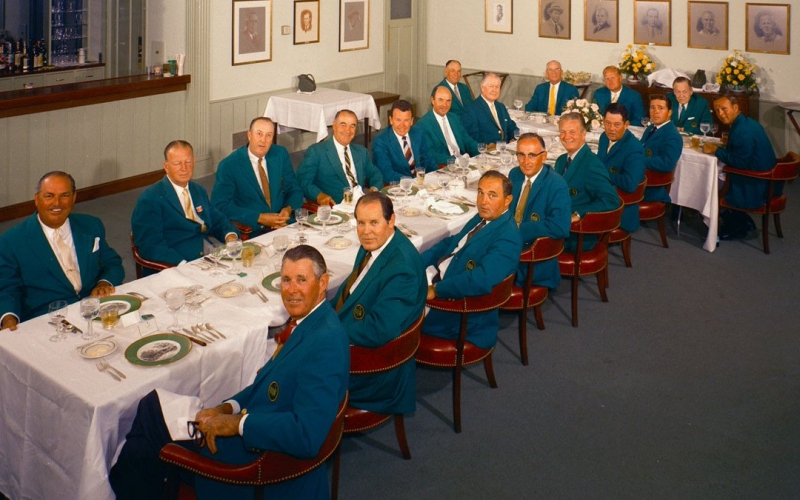 92597da3467bb5 How many Masters winners can you identify in this fascinating photo ...