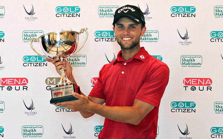 South African teen seals maiden pro title with an ace, an eagle and  unbelievable birdie-birdie finish at Yas Links