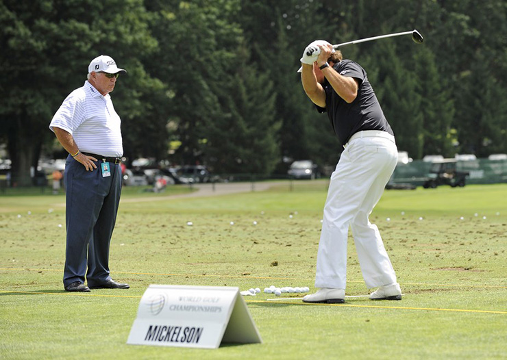 How Butch Harmon Has Helped The Best