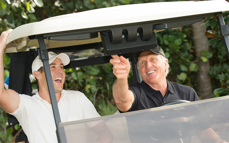 flirting moves that work golf cart coverage