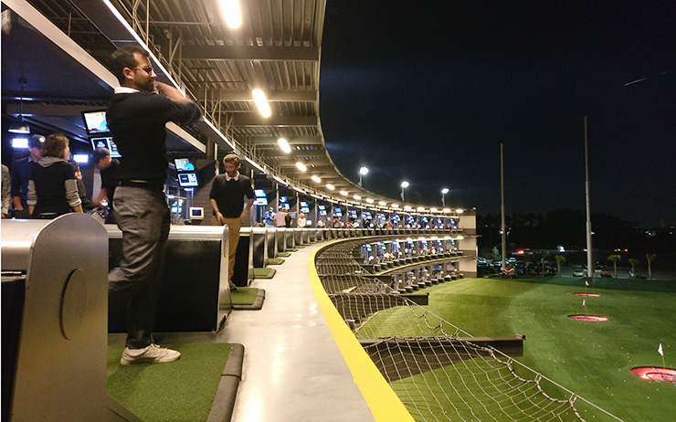 emirates golf club to open middle east u2019s first topgolf