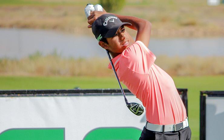 11++ Arjun gupta golf info