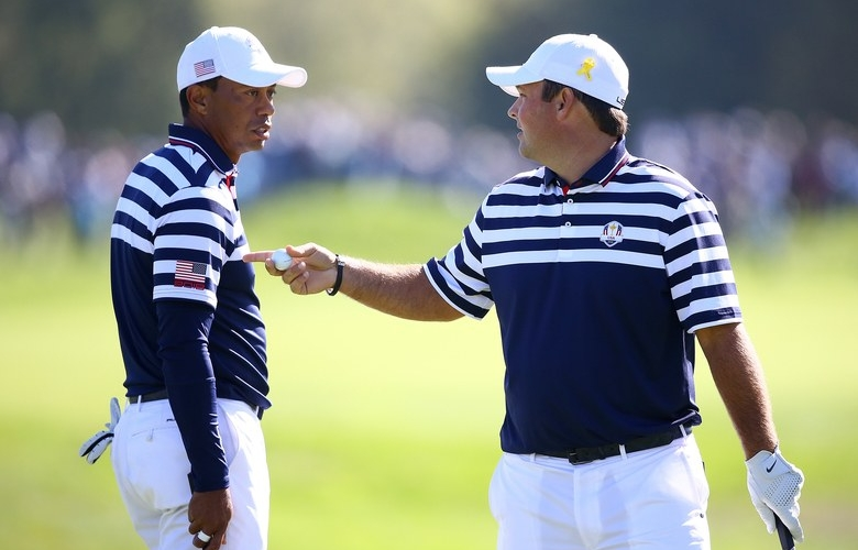 Image result for patrick reed ryder cup 2018