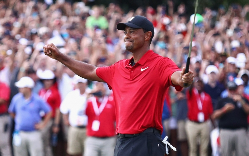 d23bfd98 There was something exactly right about Tiger Woods finishing the  tournament portion of the 2017-'18 PGA Tour season by winning the Tour  Championship for ...