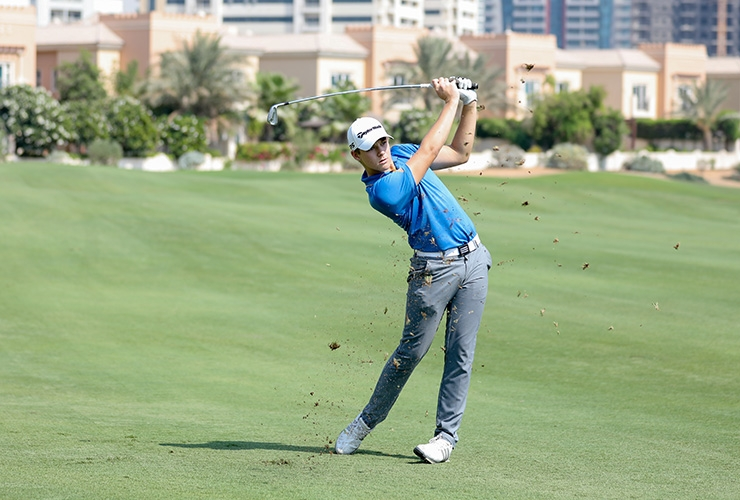 cd02c656444f3d Noted Dubai amateur Max Cashmore shows his style with one of the shots of  the day during the second qualifier for the 11th Golf Digest Middle East  Classic ...