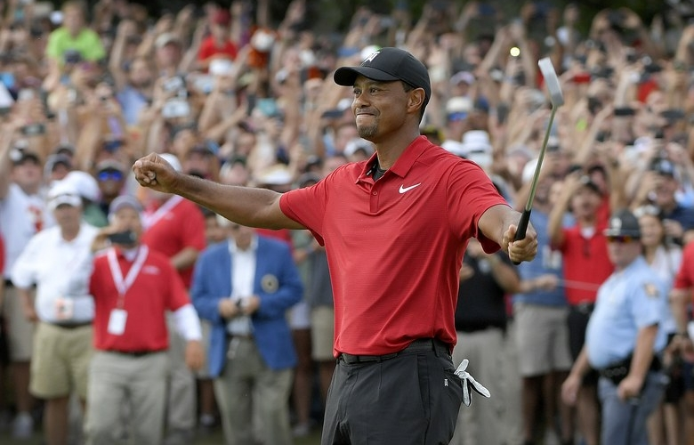 """10a87bea ESPN to air film on Tiger Woods' 2018 comeback season, """"Return of the Roar""""  on Tiger's birthday"""