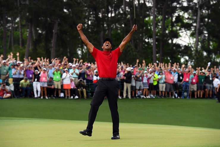 Tiger Woods wins the Masters(!), Phil Mickelson's all-time